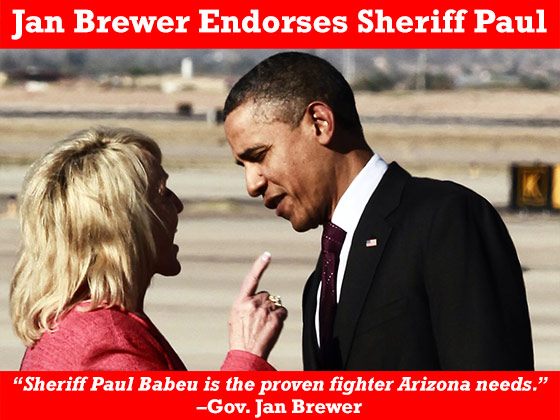 Thank you Governor Brewer.